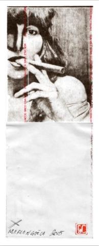 Gaetano De Crecchio | MultiSickle | Fotografia Fiscale realizzata su Carta scontrino