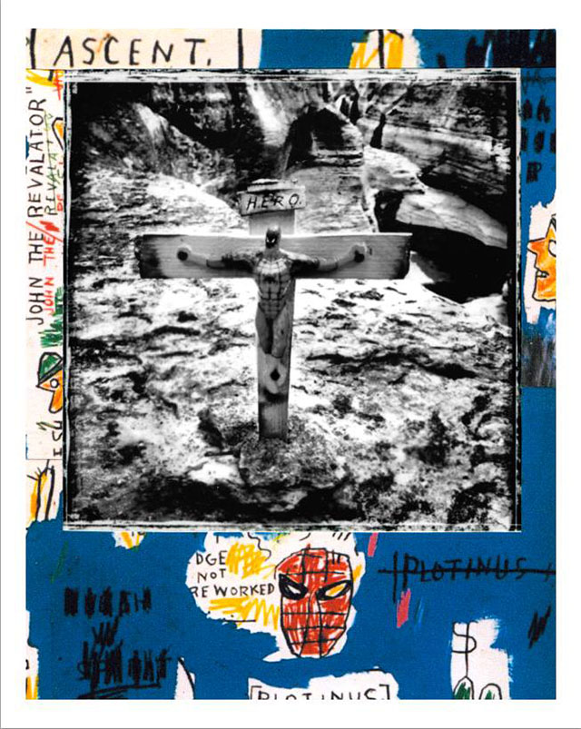 "Gaetano De Crecchio | Spider + ""Ascent"" J.M. Basquiat 
